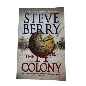 ☘️3/$30☘️ The 14th Colony by Steve Berry - book